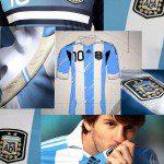 Calcio, adidas svela le nuove maglie dell'Argentina per la Coppa America 2011