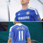 Calcio, la home jersey del Chelsea per la stagione 2011/12 è una maglia incompiuta