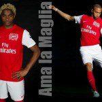 Nuova maglia Nike dell'Arsenal per il 2011/12: svelati i segreti dello stemma per i 125 anni