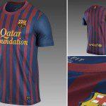 Spagna, polemiche per la maglia Nike 2011/12 del Barcellona con sponsor Qatar Foundation