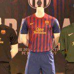 Calcio, attesa finita: presentazione ufficiale delle nuove maglie Nike del Barcellona per il 2011/12