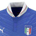 """Calcio, Italia: tricolore """"capovolto"""" sulla nuova maglia Puma? Per l'etichetta non ci sono errori"""