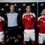 Calcio, Euro 2012: Danimarca con maglia adidas nuova ma un po' retrò e un po' (tanto) Norvegia