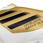 Calcio, Spagna: Messi premiato da adidas con una scarpa speciale per il terzo Pallone d'Oro