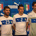 Calcio, Euro 2012: Puma presenta il nuovo <em>kit</em> <em>away</em> bianco per l'Italia. E rinnova fino al 2018