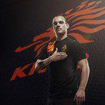 Calcio, Euro 2012: <em>kit</em> <em>away</em> Olanda di Nike nero e ispirato dall'età dell'oro per i Nieuwe Meesters