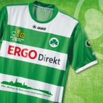 Coppa di Germania, divisa speciale per il Fürth