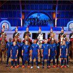 Calcio, Euro 2012: Home Kit Nike della Francia