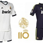 Divise Home e Away Real Madrid 2012/13