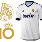 Calcio, Real Madrid: camiseta adidas 2012/13