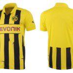 Borussia Dormund, <i>trikot</i> Puma per la Champions