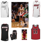 Nba, Miami Heat: <i>patch</i> e <del>pinstripe</del> contro Boston