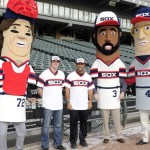 Chicago White Sox con maglie throwback del 1983