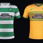 Celtic Glasgow 2013-2014, kit home e away Nike