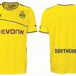 Borussia Dortmund Wintertrikot 2013, omaggio al Muro Giallo