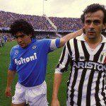 Juventus – Napoli, Maradona e Platini: com'era nel 1986-87