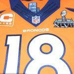 """Super Bowl 2014, ecco pronta """"la 18"""" per Peyton Manning"""